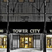 Tower City In Cleveland Ohio Poster