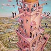 Tower Of Babbit Poster
