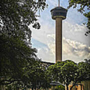 Tower Of The Americas Poster