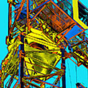 Towering 5 Poster by Wendy J St Christopher