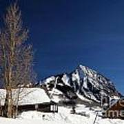 Towering Above Crested Butte Poster