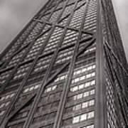 Towering John Handcock Building Poster