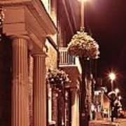 Town At Night Poster