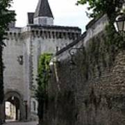 Town Gate - Loches - France Poster