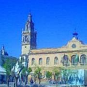 Town Hall In Ecija Spain Poster