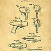 Toy Ray Gun Patent Poster