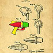 Toy Ray Gun Patent II Poster