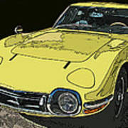 Toyota 2000 Gt Poster by Samuel Sheats