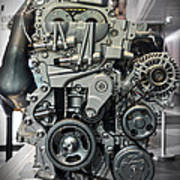 Toyota Engine Poster
