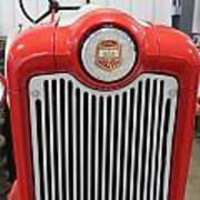 Ford Tractor Grill Poster