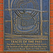 Traces Of The Past Busch Stadium Dsc01113 Poster