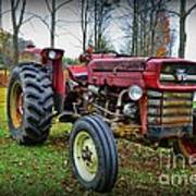 Tractor - The Farmers Car Poster