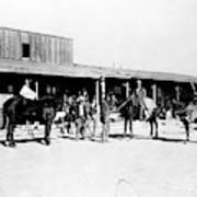 Trading Post, 1882 Poster