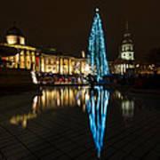 Trafalgar Christmas Tree Poster