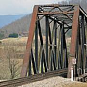 Train Bridge Poster