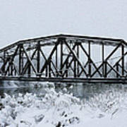 Train Bridge Over The Genesee River Poster