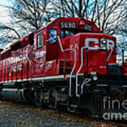 Train - Canadian Pacific 5690 Poster