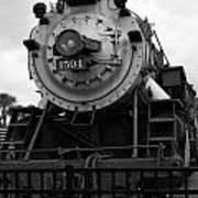 Train Engine Poster