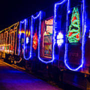 Train Of Lights Poster