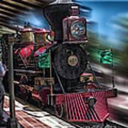 Train Ride Magic Kingdom Poster