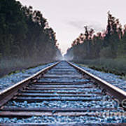 Train Tracks To Nowhere Poster