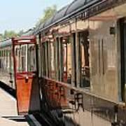 Train Transport Poster
