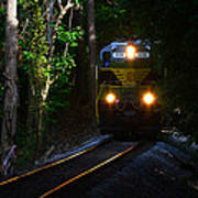 Rails Through The Wilderness Poster