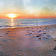 Tranquility Beach Poster by Betsy Knapp