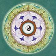 Tranquility Mandala Poster