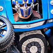 Transformer Man Mime Poster