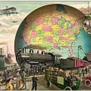 Transportation Poster by Gary Grayson