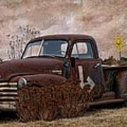 Transportation - Rusted Chevrolet 3100 Pickup Poster