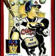 Travis Hafner Grand Slam Poster