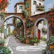 Tre Archi Poster by Guido Borelli