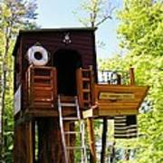 Tree House Boat 2 Poster