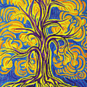 Tree Of Happiness Poster