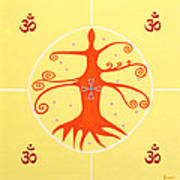 Tree Of Life - Joy Mandala Poster