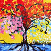 Tree Of Life Poster by Ramona Matei