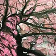 Tree Of Pink Poster