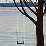 Tree With A Swing Poster