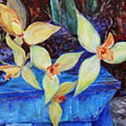 Triangular Blossom Poster