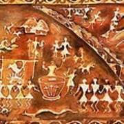 Tribal Art Poster