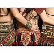 Tribal Dancers Poster