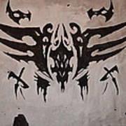 Tribal Skull Poster