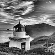 Trinidad Light In Black And White Poster by Adam Jewell