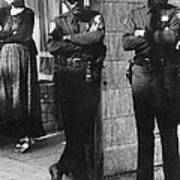 Trio Of Arm Crossers San Francisco California 1972 Poster