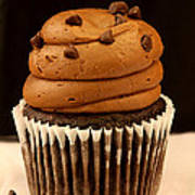 Triple Chocolate Cupcake Poster