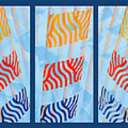 Triptych Sunrise 2 Poster