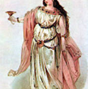 Tristan And Isolde, 1865 Poster
