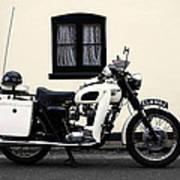 Triumph Metropolitan Police Poster